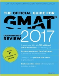The Official Guide for GMAT Quantitative Review 2017 with Online Question Bank and Exclusive Video