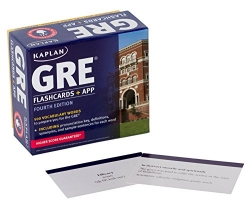 GRE Vocabulary Flashcards + App (Kaplan Test Prep)
