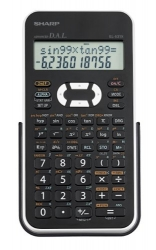 Sharp EL531XBWH Scientific Calculator with 2 Line Display