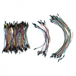 Z&T Solderless Flexible Breadboard Jumper Wires M/M 100pcs