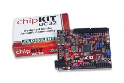 Digilent chipKIT uC32 Basic Microcontroller Board with Uno R3 Headers - 410-254